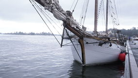 Sailing ship at berth Stock Photo