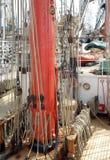 Sailing ship details Royalty Free Stock Photo