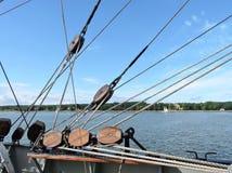 Sailing ship details Royalty Free Stock Photography