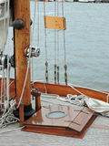 Sailing ship details Stock Images