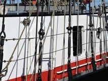 Sailing ship details Royalty Free Stock Photos