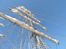 Sailing ship details Royalty Free Stock Images