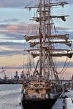 Sailing Ship - Dublin - Ireland Royalty Free Stock Photos