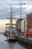 Sailing Ship - Dublin - Ireland Stock Photography