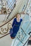 Sailing ship figurehead Royalty Free Stock Photos