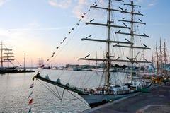 Sailing ship Fryderyk Chopin Stock Photos
