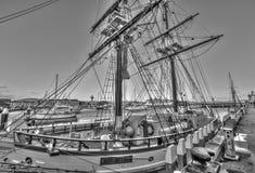 Sailing ship, Hobart, Tasmania Royalty Free Stock Photo