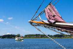 Sailing Ship In The Port Royalty Free Stock Image