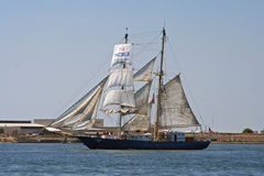 Sailing Ship Kaisei in San Diego Stock Photos