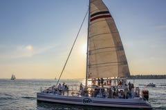 Sailing ship Key West Stock Photos