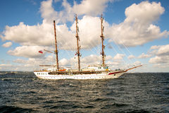 Sailing ship, Le Quy Don Stock Photo
