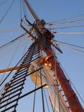 Sailing Ship Mast Stock Photography