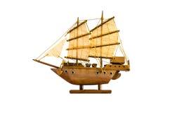 Sailing ship model Royalty Free Stock Image