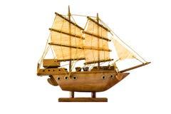Sailing ship model Royalty Free Stock Photo