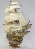 Sailing ship model Stock Image