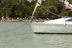 Sailing ship moored Royalty Free Stock Images