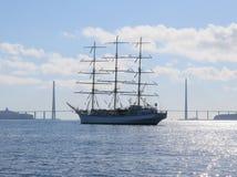 The sailing ship Royalty Free Stock Image