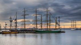Sailing Ship. Opertion Gdynia Sails - Sailing Ship  2014 Stock Image
