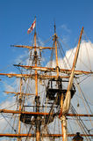Sailing ship rigging Stock Photography