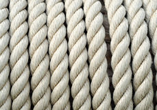 Sailing ship ropes background Stock Photography