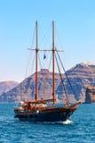 Sailing ship on the sea Royalty Free Stock Photo