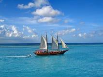 Sailing Ship, Sea, Water Transportation, Tall Ship royalty free stock photography