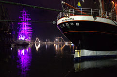 Sailing ship Sedov Stock Photo