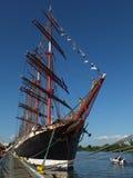 Sailing ship Siedow Stock Photography
