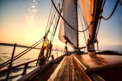 Sailing Ship, Sky, Sea, Tall Ship royalty free stock photo