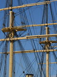 Sailing ship tackle Royalty Free Stock Images