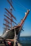 Sailing Ship, Tall Ship, Barque, Ship royalty free stock photo
