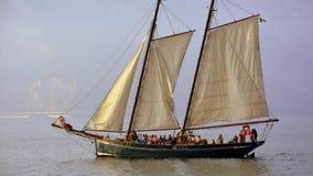 Sailing Ship, Tall Ship, Barquentine, Schooner Stock Image