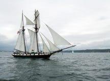 Sailing Ship, Tall Ship, Schooner, Brigantine stock photos