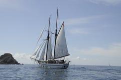 Sailing Ship, Tall Ship, Schooner, Brigantine royalty free stock photo