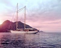Sailing Ship, Tall Ship, Sea, Sky stock photo
