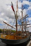 Sailing Ship, Tall Ship, Ship, East Indiaman royalty free stock image