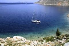 Sailing ship yacht royalty free stock photo