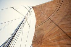 Sailing ship yachts Stock Images