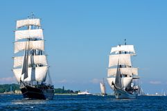 Sailing ships Royalty Free Stock Photos