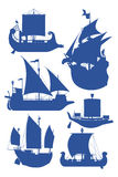 Sailing ships Stock Photo
