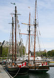 Sailing ships Stock Photos