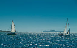 Sailing ships Stock Images