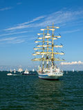 Sailing ships in the Baltic Stock Photo