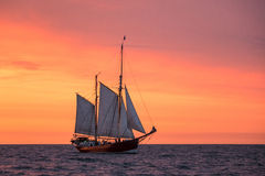 Sailing ships on the Baltic Sea Royalty Free Stock Photos