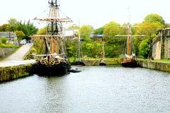 Sailing ships. Stock Photo