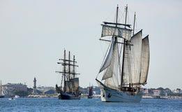 Sailing Ships - Hansesail 2015 - 02 Royalty Free Stock Images