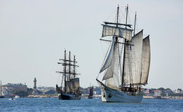 Sailing ships - Hansesail 2015 - 02 Royalty Free Stock Images