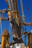Sailing Ships Mast Stock Photo