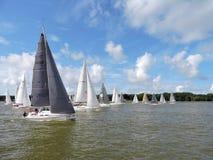 Sailing ships regatta Stock Photos