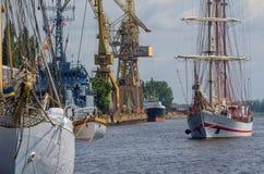 SAILING SHIPS, SHIP, WARSHIP Stock Images
